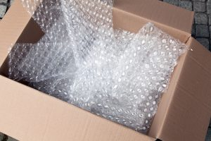 Bubble Wrap to protect the Materials