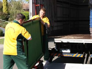 Pool table Removalists provide a vehicle or a truck