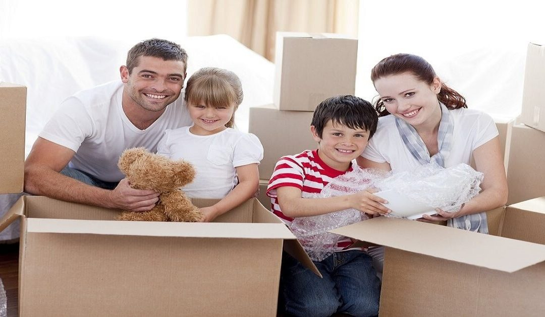 How to Successfully Moving House with Kids