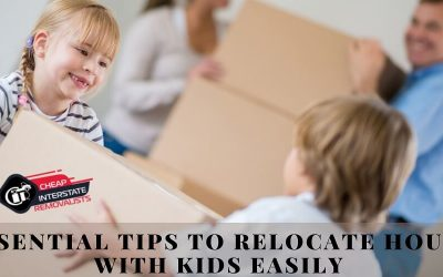 Essential Tips To Relocate House With Kids Easily