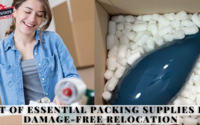 List Of Essential Packing Supplies For Damage-Free Relocation
